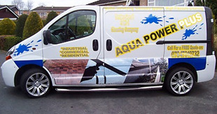 aqua power plus van